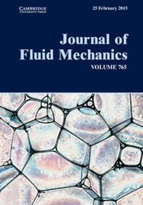 Journal of Fluid Mechanics Volume 765 - Issue  -