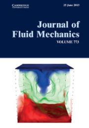 Journal of Fluid Mechanics Volume 773 - Issue  -