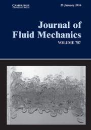 Journal of Fluid Mechanics Volume 787 - Issue  -