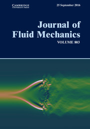Journal of Fluid Mechanics Volume 803 - Issue  -