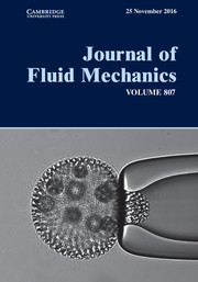 Journal of Fluid Mechanics Volume 807 - Issue  -