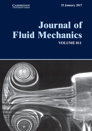 Journal of Fluid Mechanics Volume 811 - Issue  -