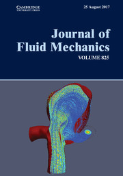 Journal of Fluid Mechanics Volume 825 - Issue  -