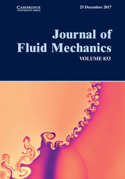 Journal of Fluid Mechanics Volume 833 - Issue  -