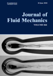 Journal of Fluid Mechanics Volume 844 - Issue  -