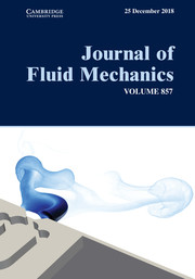 Journal of Fluid Mechanics Volume 857 - Issue  -