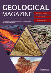 Geological Magazine Volume 157 - Special Issue1 -  SPECIAL ISSUE: Commemorating the 155th anniversary of Geological Magazine