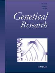 Genetics Research Volume 83 - Issue 3 -