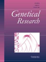 Genetics Research Volume 86 - Issue 1 -