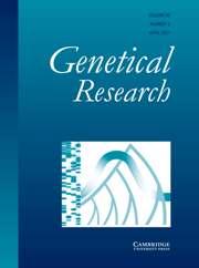 Genetics Research Volume 89 - Issue 2 -