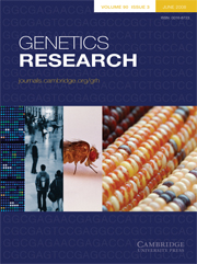 Genetics Research Volume 90 - Issue 3 -