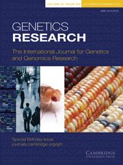 Genetics Research Volume 90 - Issue 5 -