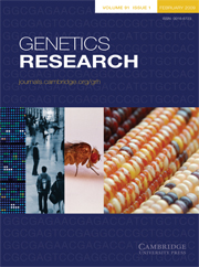 Genetics Research Volume 91 - Issue 1 -