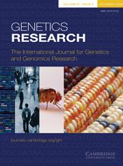 Genetics Research Volume 91 - Issue 6 -