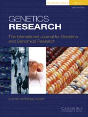 Genetics Research Volume 93 - Issue 3 -