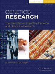 Genetics Research Volume 94 - Issue 5 -