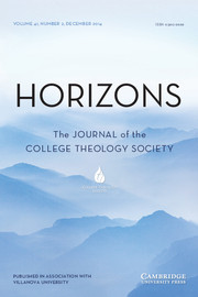 Horizons Volume 41 - Issue 2 -