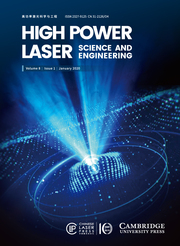 High Power Laser Science and Engineering