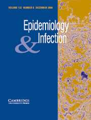 Epidemiology & Infection Volume 132 - Issue 6 -