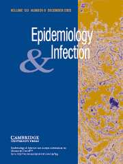 Epidemiology & Infection Volume 133 - Issue 6 -