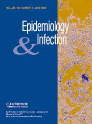 Epidemiology & Infection Volume 134 - Issue 3 -
