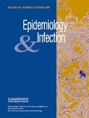 Epidemiology & Infection Volume 134 - Issue 5 -