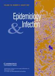 Epidemiology & Infection Volume 135 - Issue 6 -