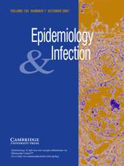 Epidemiology & Infection Volume 135 - Issue 7 -
