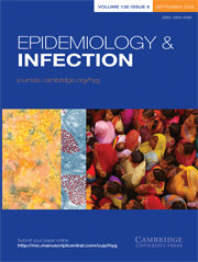 Epidemiology & Infection Volume 136 - Issue 9 -