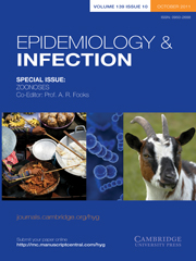Epidemiology & Infection Volume 139 - Special Issue10 -  ZOONOSES