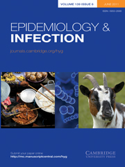 Epidemiology & Infection Volume 139 - Issue 6 -