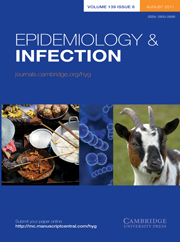 Epidemiology & Infection Volume 139 - Issue 8 -