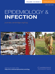 Epidemiology & Infection Volume 140 - Issue 2 -