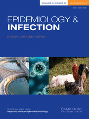 Epidemiology & Infection Volume 142 - Issue 11 -