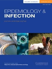 Epidemiology & Infection Volume 142 - Issue 2 -