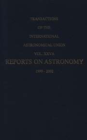 Transactions of the International Astronomical Union
