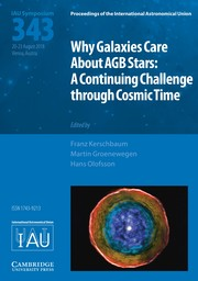 Proceedings of the International Astronomical Union Volume 14 - SymposiumS343 -  Why Galaxies Care About AGB Stars: A Continuing Challenge through Cosmic Time