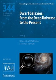 Proceedings of the International Astronomical Union Volume 14 - SymposiumS344 -  Dwarf Galaxies: From the Deep Universe to the Present
