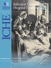 Infection Control & Hospital Epidemiology Volume 37 - Issue 11 -
