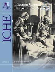 Infection Control & Hospital Epidemiology Volume 37 - Supplement6 -