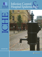 Infection Control & Hospital Epidemiology Volume 39 - Issue 8 -