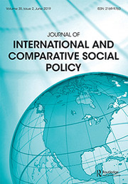 Journal of International and Comparative Social Policy Volume 35 - Issue 2 -