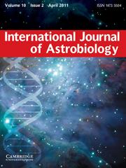 International Journal of Astrobiology Volume 10 - Issue 2 -