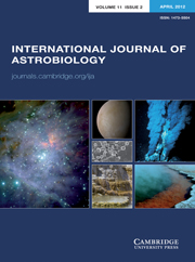 International Journal of Astrobiology Volume 11 - Issue 2 -
