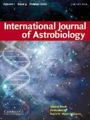 International Journal of Astrobiology Volume 1 - Issue 4 -