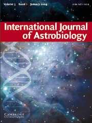 International Journal of Astrobiology Volume 3 - Issue 1 -