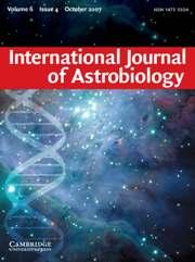 International Journal of Astrobiology Volume 6 - Issue 4 -