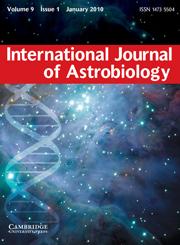 International Journal of Astrobiology Volume 9 - Issue 1 -