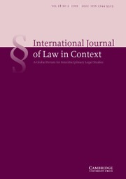 International Journal of Law in Context
