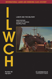 International Labor and Working-Class History Volume 80 - Issue 1 -